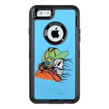 Skull Dude Otterbox Defender Iphone Case by ImageMonkey at Zazzle
