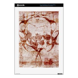 Skull Duggery Grunge PS3 Skin