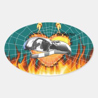 skull-eagle3.png pegatina ovalada