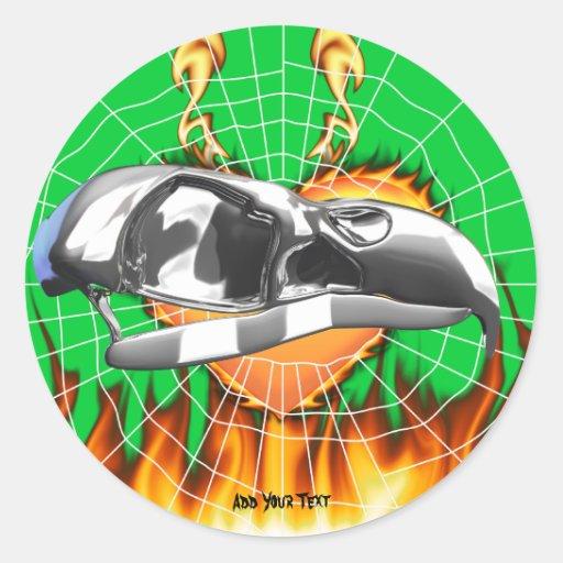 skull-eagle3.png pegatina redonda