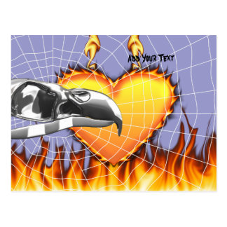 skull-eagle3 png tarjeta postal
