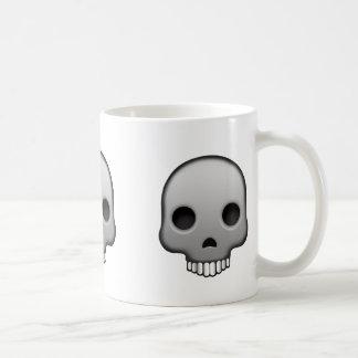 Skull Emoji Coffee Mug