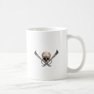 skull espada taza