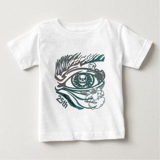 Skull Eye 25th Birthday Gifts Shirt