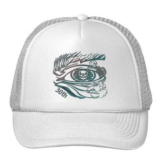 Skull Eye 30th Birthday Gifts Trucker Hat