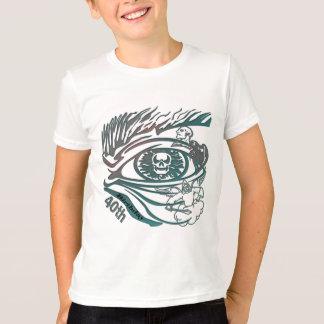 Skull Eye 40th Birthday Gifts T-Shirt