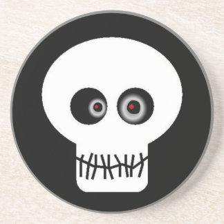 Skull Eyes Drink Coasters