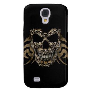 Skull Face Samsung Galaxy S4 Cover