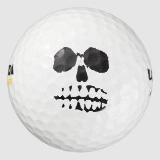 Skull Face Golf Balls