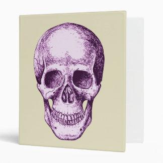 Skull Face Purple Binder
