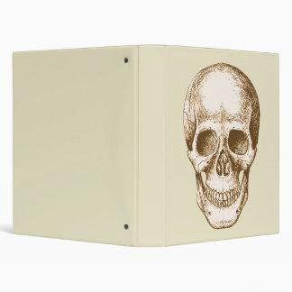 Skull Face Sepia Binder