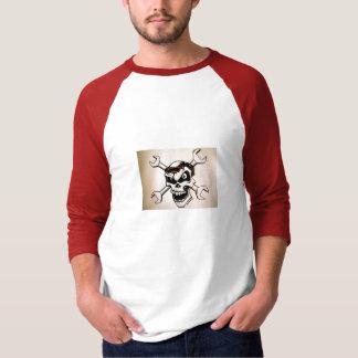 skull face shirt