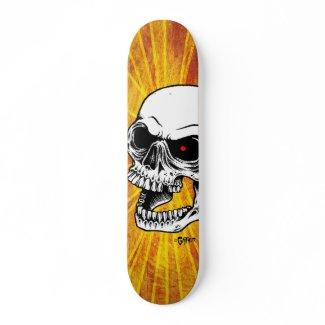 Skull Face skateboard