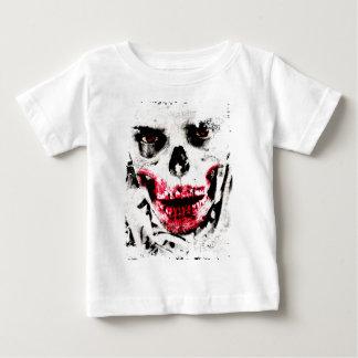 Skull Face Zombie Man Creepy Horror Baby T-Shirt
