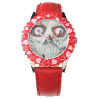 Skull_Face_Zombie_Watch Reloj De Mano