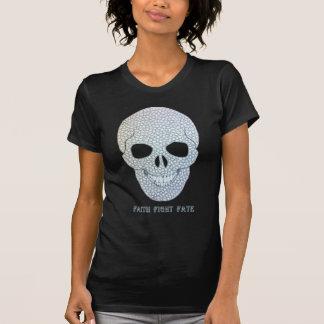 Skull Faith Fight Fate T-Shirt
