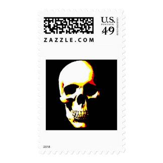 Skull Fantasy Art Postage Stamp