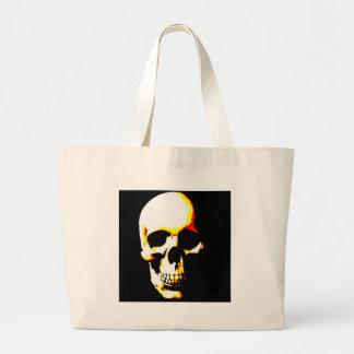 Skull Fantasy Art  Rock Punk Large Tote Bag