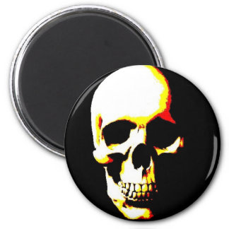 Skull Fantasy Art Rock Punk Magnet