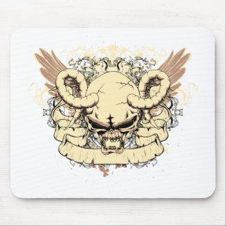 Skull ~ Feed The Beast Fantasy Art Mousepads
