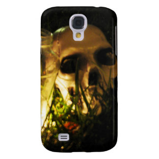 Skull Fire Samsung Galaxy S4 Cover