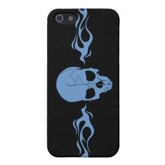 Skull Flames Custom iPhone4 Case