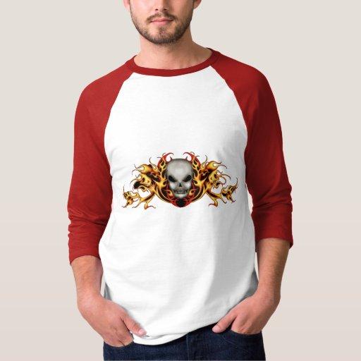 Skull Flames T-shirt