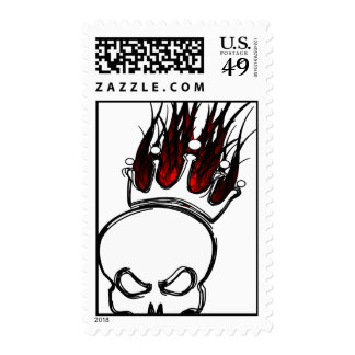 Skull & Flaming Crown Stamps