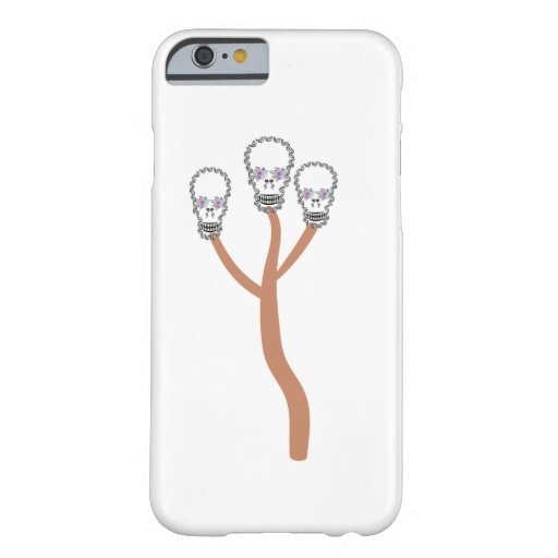 Skull flower butterfly     best,aliasghar,Skull,fl Barely There iPhone 6 Case
