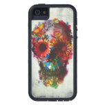 Skull Flower Case Xtreme Iphone 5/5s Protection at Zazzle