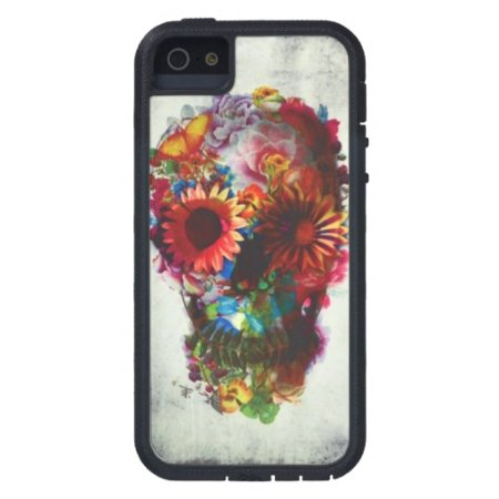 Skull Flower Case Xtreme Iphone 5/5s Protection