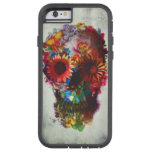 Skull Flower Case Xtreme Iphone 6 Case Protection at Zazzle