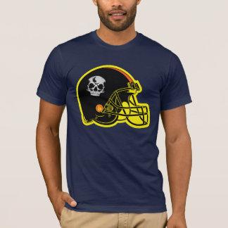 Skull Football Helmet T-Shirt