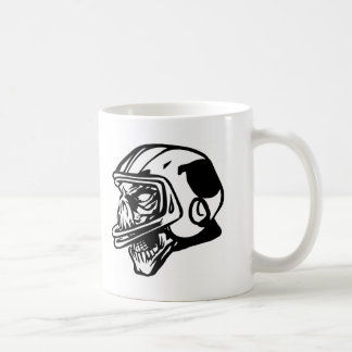 Skull Football Player Coffee Mug
