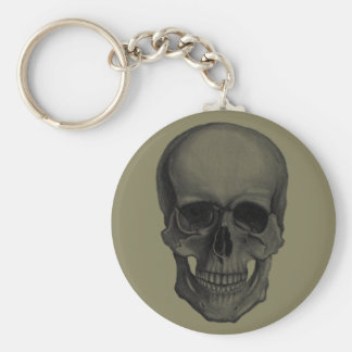 Skull For Horror Fans and Goths Keychain
