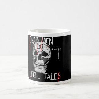 Skull forensic science CSI dead men Coffee Mug