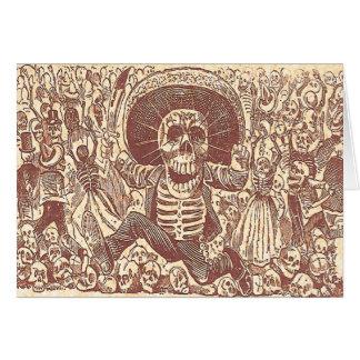 Skull from Oaxaca, La Calavera Oaxaqueña Card