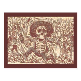 Skull from Oaxaca, La Calavera Oaxaqueña Postcard