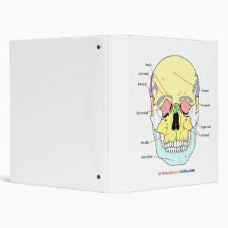 Skull (front) 3 ring binder