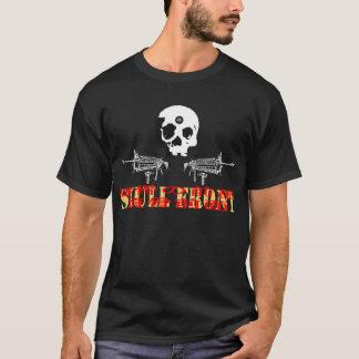 skull front japan tour01 prison cities T-Shirt