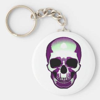 Skull Frontal Key Chain