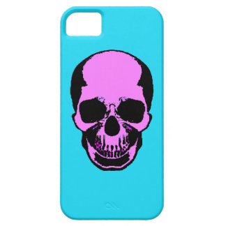 Skull Frontal Tech Skin iPhone SE/5/5s Case