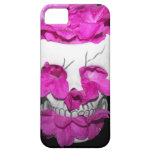 Skull Full of Pink Flowers iPhone 5 Cover