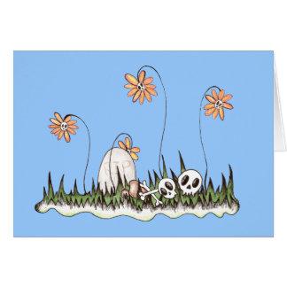 Skull Garden Card