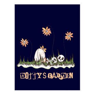 Skull Garden Postcard