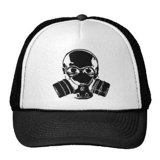 Skull Gas Mask Cap Trucker Hat