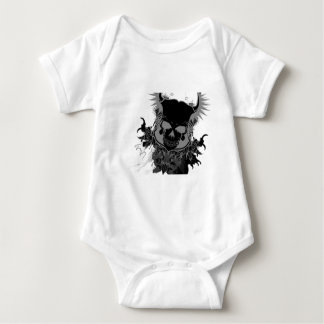 Skull Gear Baby Bodysuit