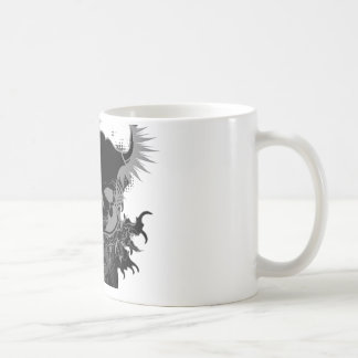 Skull Gear Classic White Coffee Mug