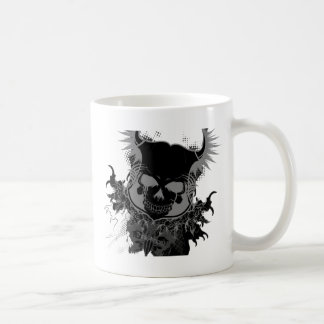 Skull Gear Coffee Mug