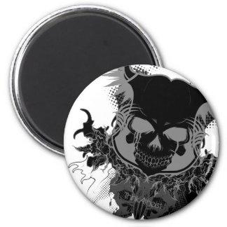 Skull Gear Magnet
